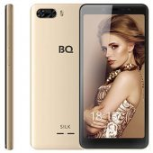 Смартфон BQ 5520 Silk, 4G, 8Gb + 1Gb Gold