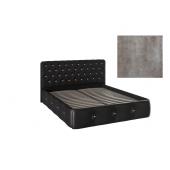 Кровать Афина с подъемным механизмом ткань (Rock-02)