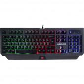 Клавиатура Defender Underlord GK-340L (черн.), игровая, USB, 45340