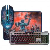 Набор Defender клавиатура+мышь+коврик Killing Storm MKP-013L USB (52013) игровой